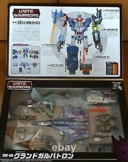 Takara Tomy Transformers Unite Warriors UW06 Grand Galvatron Used from Japan