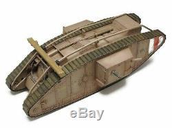 Tamiya 48214 R/C WWI BRITISH TANK Mk. IV MALE with CONTROL UNIT 1/35 from Japan EMS