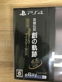 The Legend of Heroes Hajimari no Kiseki Platinum Meister Box From Japan NEW