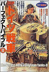 Tiger I Book German Tanks Perfect Bible 2 History Unit Image-Series M From Japan