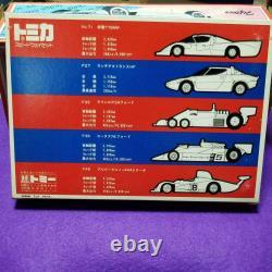 Tomy TOMICA Speedway mini-car 5unit/Set 1978 vintage rare vehicle from Japan/box