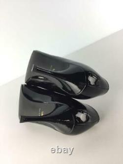 UNITED ARROWS Pointed 36.5 Enamel Size 36.5 Black Fashion heels 1976 From Japan