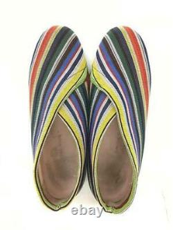 UNITED NUDE Embroide Slip On 40 Size US 8 multicolor sneaker from japan 4358