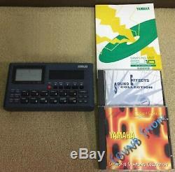 Used SU10 YAMAHA sampling unit Portable sampler with CD Manual from JAPAN