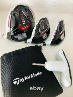 Used golf club TaylorMade R15 10 ° driver head single unit 3w 5w set from japan