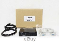 YAESU SCU-17 (USB interface unit for Yaesu radio) from Japan DHL Fast ship NEW