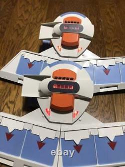 Yu-Gi-Oh Duel Disk Launcher Yusei Version 2 Set KONAMI Main unit only From JAPAN