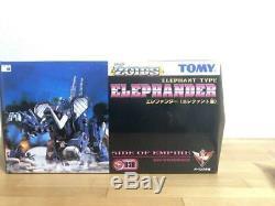 Zoids Elephander & Assault Gatling Unit Plastic Model Kits From JAPAN